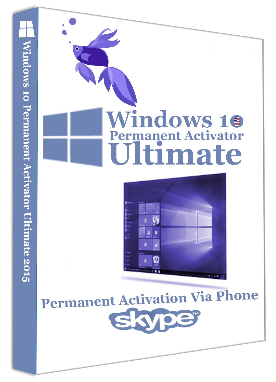 Windows 10 Permanent Activator Ultimate v1.1