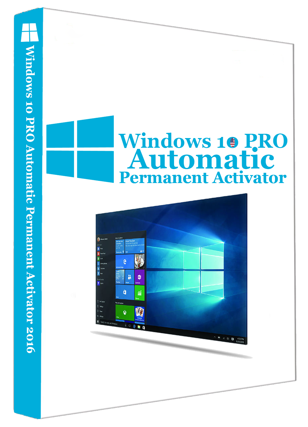 Windows 10 PRO Automatic Permanent Activator v1.0